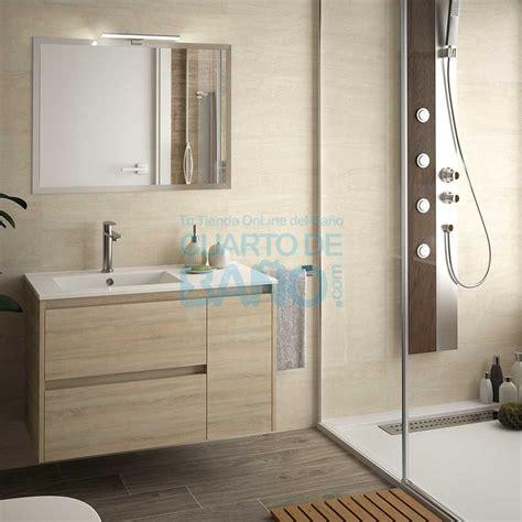 Mueble de baño NOJA Salgar 85 cm roble caledonia con ...