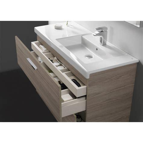 Mueble de baño Roca Prisma con cuatro cajones y lavabo ...