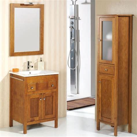 Mueble de baño rústico ESTEPONA con patas 60 cm con LAVABO ...