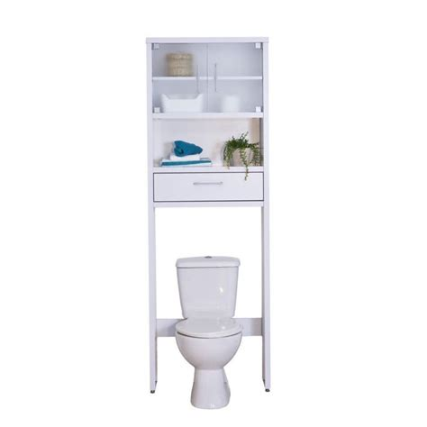 Mueble de baño sobre inodoro | Decoración de WC en baños
