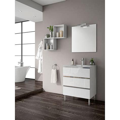 Mueble de lavabo Andrea  45 x 70 x 69 cm, Blanco  | BAUHAUS