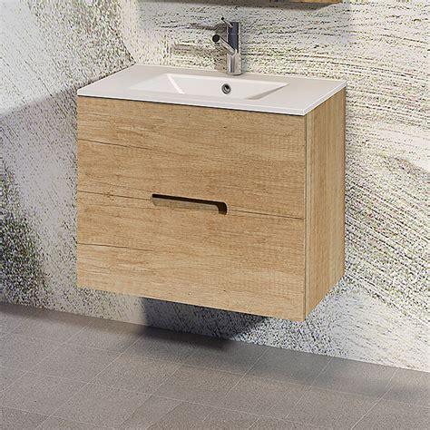 Mueble de lavabo India  380 x 700 x 550 mm, Natural  | BAUHAUS