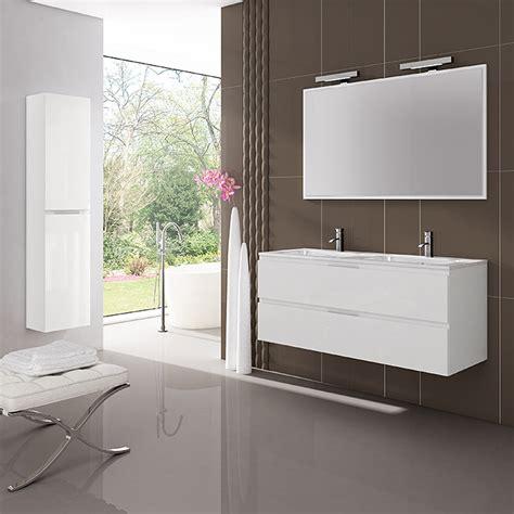 Mueble de lavabo Módena  450 x 1.200 x 500 mm, Blanco ...