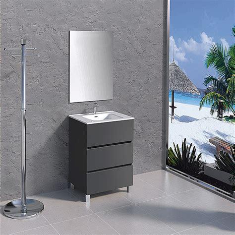 Mueble de lavabo Patri  45 x 60 x 83 cm, Gris  | BAUHAUS
