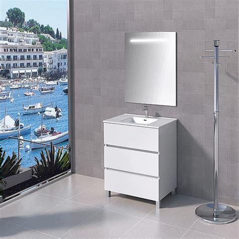Mueble de lavabo Patri  460 x 700 x 830 mm, Blanco  | BAUHAUS