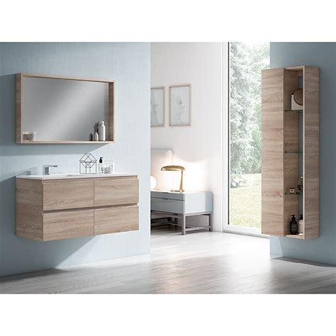 Mueble de lavabo Quadro  45 x 80 x 50 cm, Roble claro ...