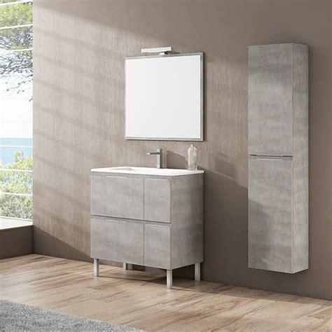 Mueble de lavabo Sheyla  45 x 80 x 69 cm, Hormigón  | BAUHAUS