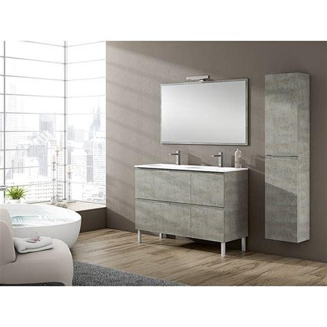 Mueble de lavabo Sheyla Hormigón  46 x 120 x 69 cm  | BAUHAUS