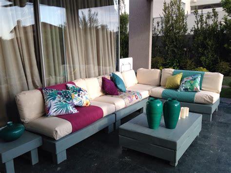 Mueble De Palet Pallets Terraza L - $ 620.000 en Mercado Libre