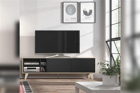 Mueble de salón – comedor ZAIKEN en color Roble Natural y ...