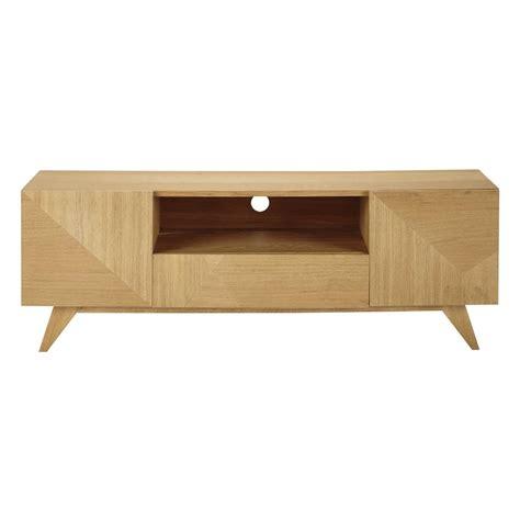 Mueble de TV de madera An. 150 cm Origami | Maisons du Monde