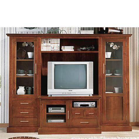 Mueble de TV en Madera de Cerezo Macizo