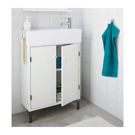 Mueble Ikea Lavabo Con 2 Puertas, Blanco   $ 6,225.00 en ...