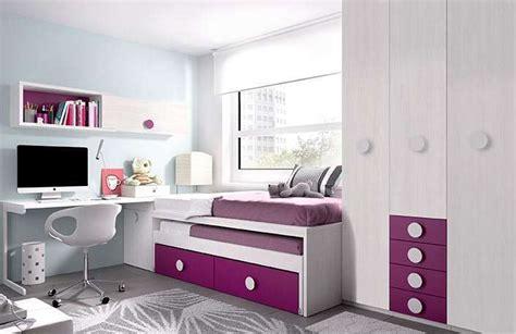 Mueble juvenil cama nido, escritorio y armario