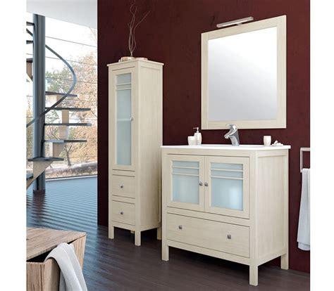 Mueble lavabo baño blanco