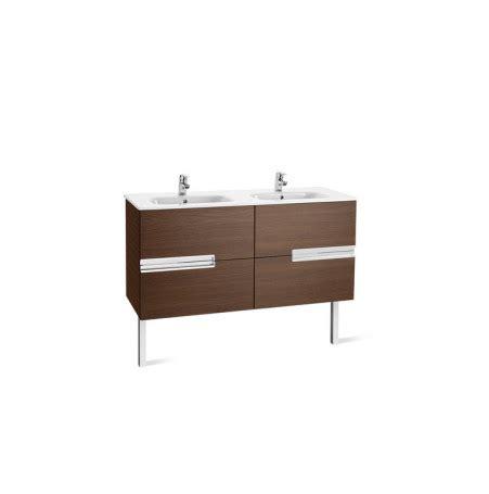 Mueble + lavabo (doble) Roca Unik Victoria-N 120 cm Gris ...