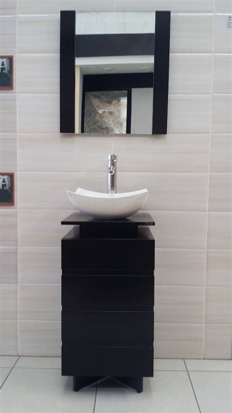 Mueble Para Baño Color Chocolate Lavabo De Marmol 78x40 ...
