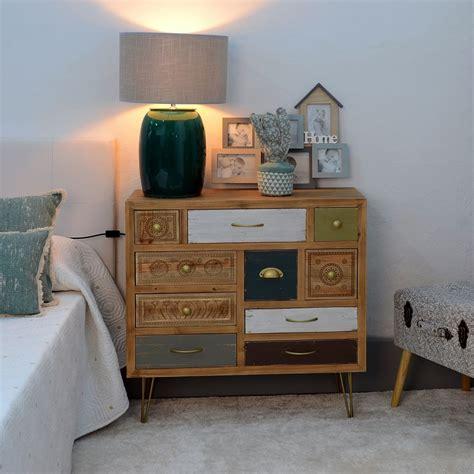 Mueble Recibidor 10 Cajones Vintage |Portes Gratis|-Te ...