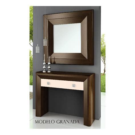Mueble recibidor modelo Granada en líneas rectas y muros ...