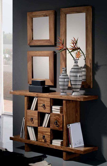 mueble recibidor rustico, venta online muebles auxiliares ...