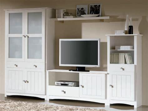 Mueble salón blanco barato