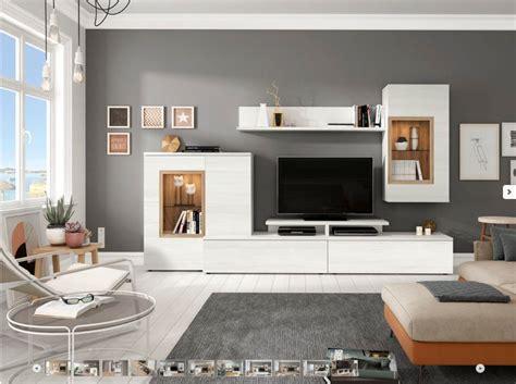 |Mueble salón comedor tv | Moderno económico | Roble Blanco