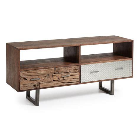 Mueble televisión en madera reciclada. Muebles de T.V ...