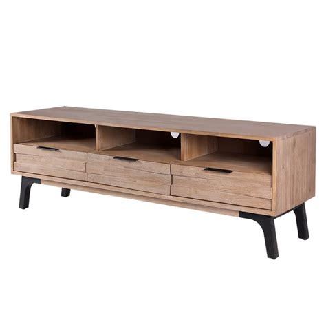 Mueble TV diseño madera acacia para ambientes nórdicos ...