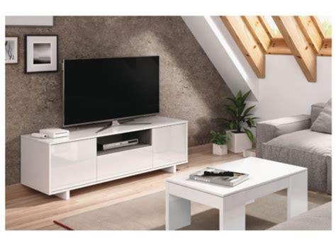 Mueble tv en alto brillo, mesa televisión con acabado en ...