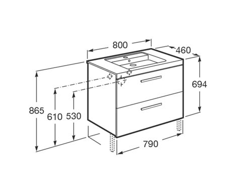 Muebles Baño Medidas Reducidas ~ Dikidu.com