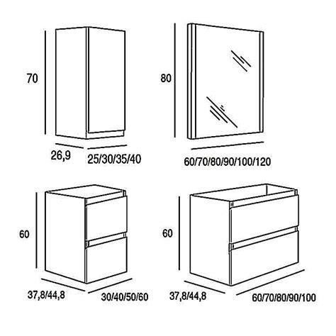Muebles De Baño Medidas Estandar ~ Dikidu.com