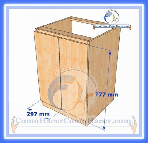 Muebles de Cocina Construcción | Web del Bricolaje Diseño Diy