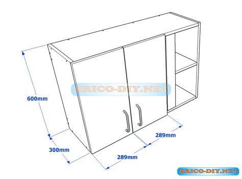Muebles de cocina plano de alacena de melamina esquinera ...
