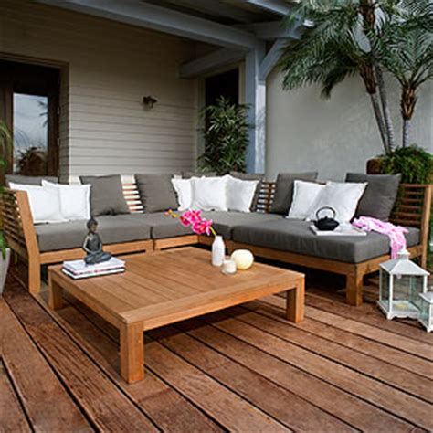 Muebles de jardín Carrefour 2013