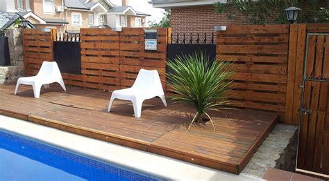 Muebles de jardín con palets - GTI Arquitectos