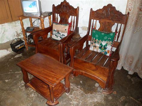 Muebles De Madera Country Juego De Sala Madera Pura - Bs ...