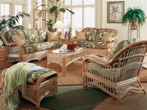 Muebles de mimbre y rattan modernos - 24 diseños