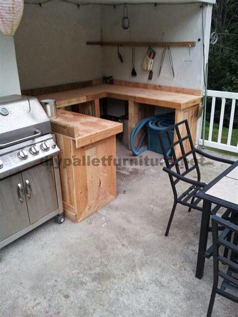 Muebles de Palets: Cocina hecha con tablas de palets ...