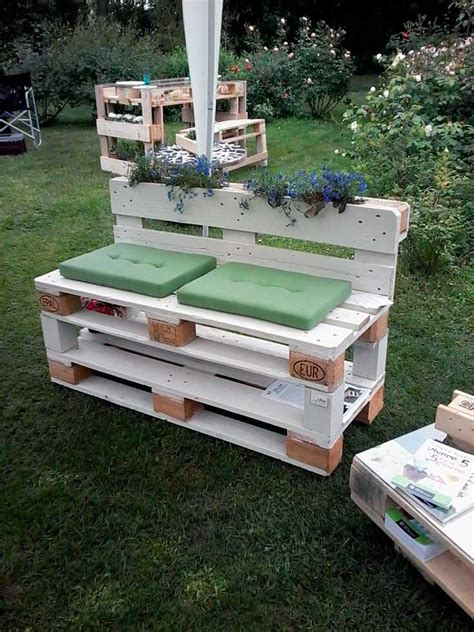 Muebles de palets para jardín - Decoracion.red