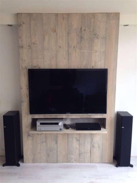 Muebles de palets para la televisión | Diseño de ...