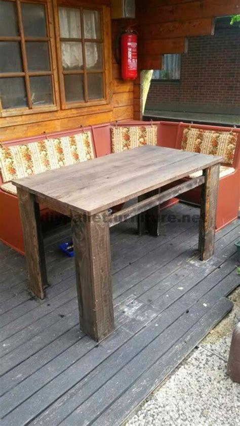 Muebles de palets: Planos para hacer una mesa con tablas ...