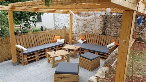 muebles de terraza con palets | Muebles de terraza ...
