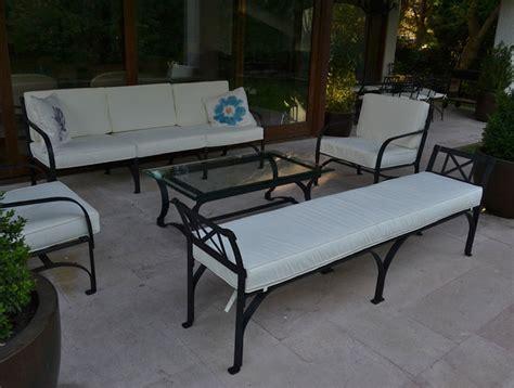 Muebles de terraza en fierro forjado | Wrought Iron ...
