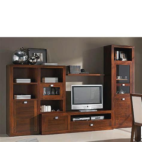 Muebles de TV madera maciza nogal - Espaciodeco.com ...