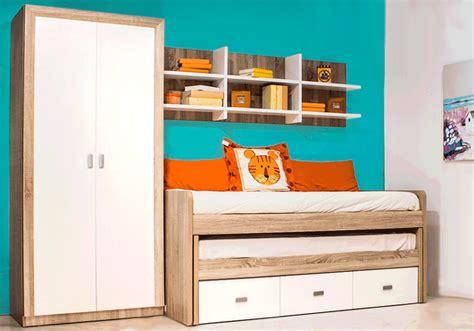 muebles dormitorios juveniles, cama compacto roble y ...