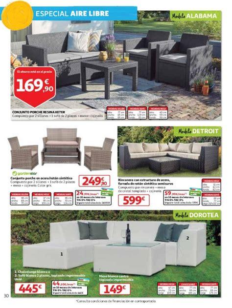 Muebles jardín Alcampo 2018: precios ofertas ...