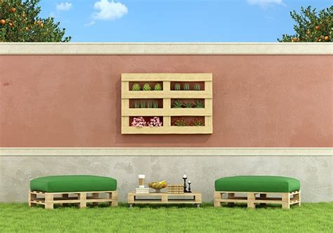 muebles jardin con palets | Hoy LowCost