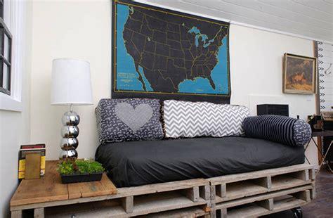 Muebles modernos hechos con palets
