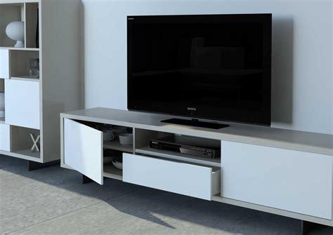 Muebles modulares para salones modernos con todos los detalles