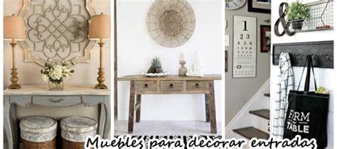 Muebles para decorar la entrada de tu casa - Curso de ...